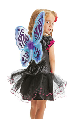 RadioShack DIY light-up costumes like these Fairy Wings are fun to build, look great and make trick-or-treaters more visible in the dark. Visit  www.radioshack.com for project plans.(PRNewsFoto/RadioShack Corporation) (PRNewsFoto/RADIOSHACK CORPORATION)