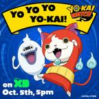 THE YO-KAI ARE COMING!  Anime sensation #YokaiWatch - Mon 10/5 5pm on Disney XD!