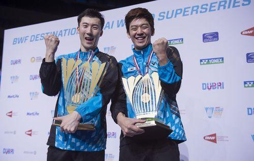 Yoo Yean Seong, Lee Yong Dae, Korea (PRNewsFoto/BWF DESTINATION DUBAI)