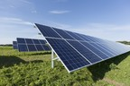 Pictured: Ground-mounted solar facility (PRNewsFoto/HelioSage Energy)
