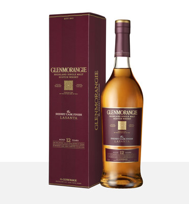 Glenmorangie's Award Winning 12 Years Old Sherry Finish Lasanta