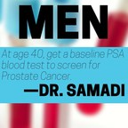 Patients newly diagnosed with prostate cancer or an elevated PSA can contact Dr. Samadi for a free phone consultation at 212.365.5000. Visit ProstateCancer911.com for more information and treatment options and understanding an elevated PSA. An elevated PSA is not a diagnosis for prostate cancer, nor does it always lead to a biopsy. The PSA blood test is often the first step in screening for prostate cancer.�It is included in a two-part screening process that also includes the digital rectal exam (DRE).