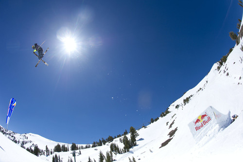 Red Bull Megaslope To Push The Envelope Of Slopestyle Skiing With A New Competition In 2014. (PRNewsFoto/Red ...