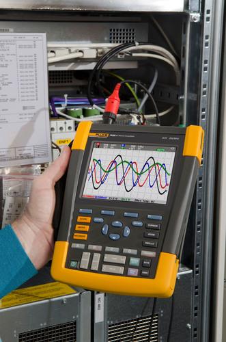 Fluke Biomedical lanza el osciloscopio portátil de bajo peso 190M Medical ScopeMeter®