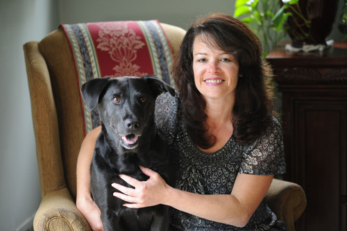 Winner of Pro Plan Rally to Rescue Stories Contest, Sheryl Hogan and dog Pepper.  (PRNewsFoto/Nestle Purina PetCare Company)