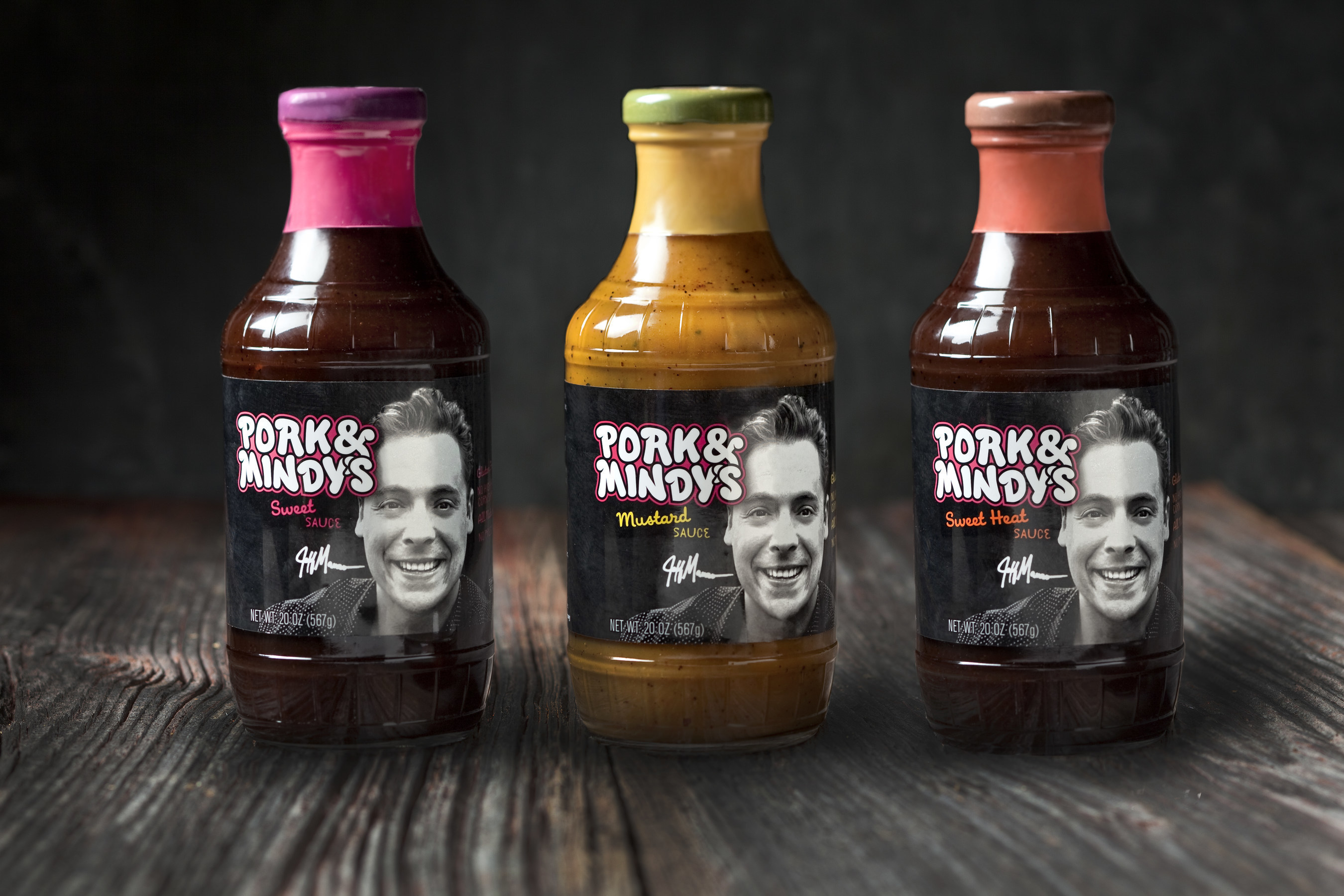 The Food Network's Jeff Mauro Launches Pork & Mindy's Sweet, Mustard and Sweet Heat Sauces