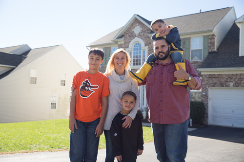 Erin Justice of Laurel, MD chose solar for potential cost savings for her family. (PRNewsFoto/Vivint Solar)