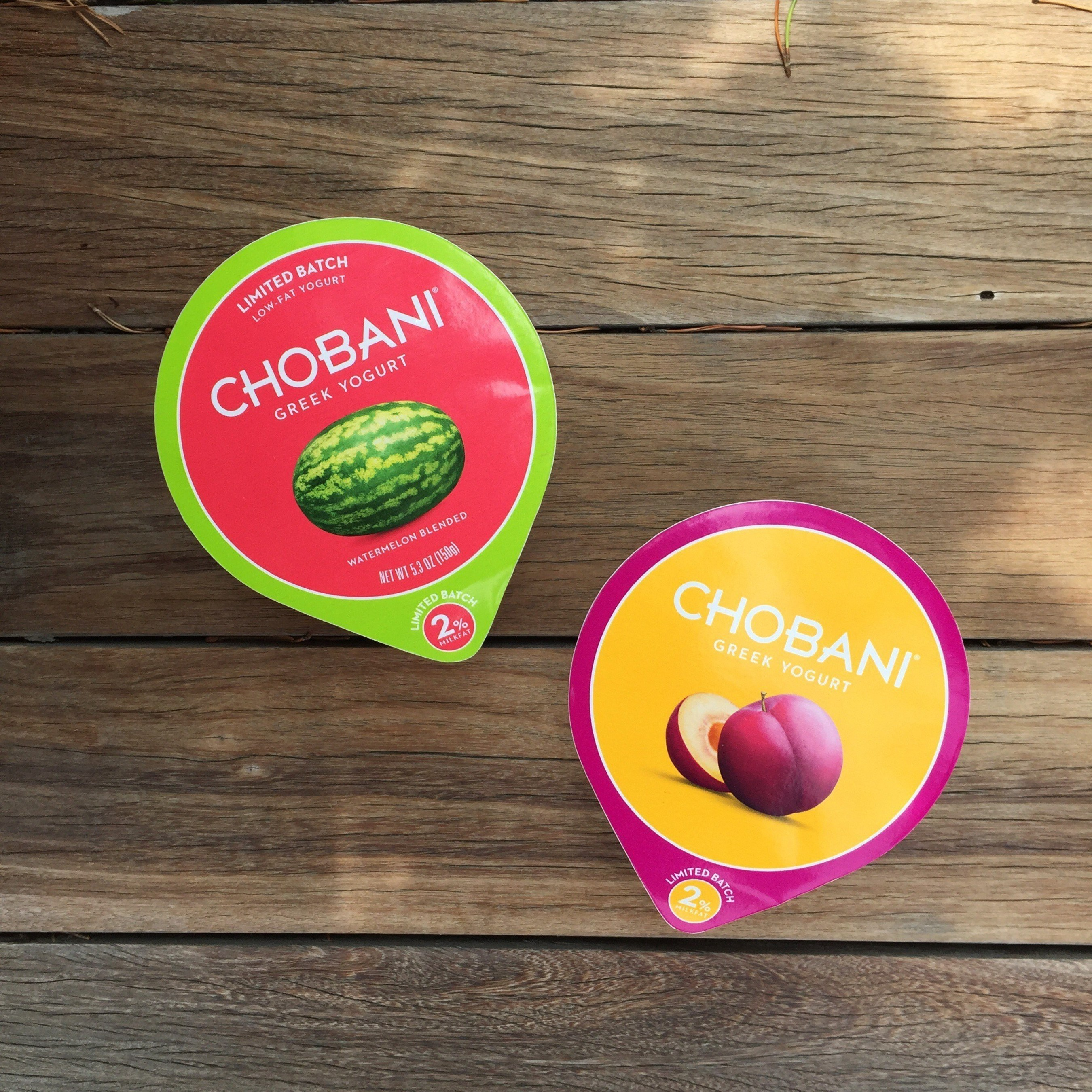 Chobani, America's No. 1-selling Greek Yogurt brand, is launching Limited Batch Plum and bringing back popular Chobani Watermelon, both available through August.