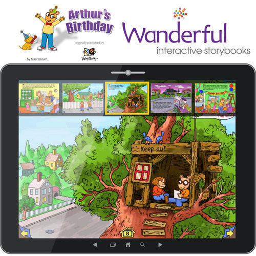 Wanderful Introduces the Interactive Storybook 'Arthur's Birthday' for iOS