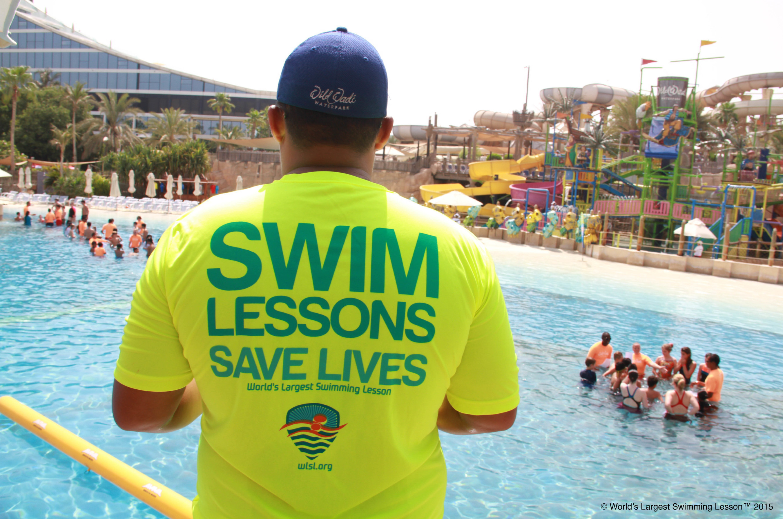 World's Largest Swimming Lesson Set for Friday, June 24th. Tens of thousands of kids join Life-saving, global event to raise awareness about the importance of teaching children to swim to prevent childhood drowning - the leading cause of accidental death for children ages 1-4. More drowning and near drowning accidents occur in June than in any other month. More than 700 aquatic facilities set to participate in 20 countries. Registration extended through June 14th. Learn more at WLSL.org
