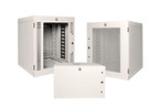 CPI Standard Wall-Mount Cabinet Provides Secure Equipment Storage for Telecommunications Rooms