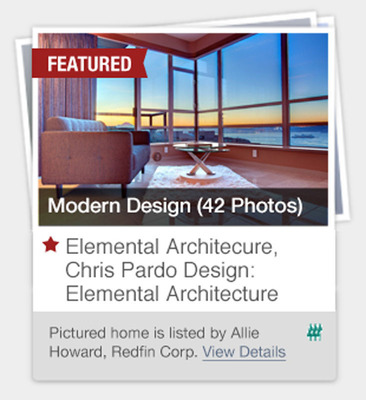 A Redfin Featured Collection by Chris Pardo Design: Elemental Architecture.  (PRNewsFoto/Redfin)
