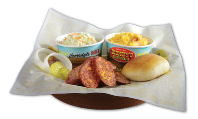 Dickey's Barbecue Pit  Introduces New 'Spicy Cheddar Sausage' Limited Time Product.  (PRNewsFoto/Dickey's Barbecue)