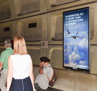 OUTFRONT Media Expands On Washington Metropolitan Area Transit Authority Digital Advertising Partnership With New Installations