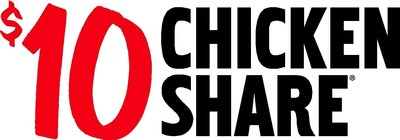 $10 Chicken Share Logo