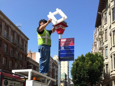 Urban Solar is now supplying solar powered LED lighting at bus stops in San Francisco.