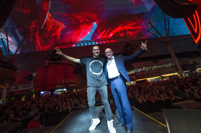 New Viva Vision(R) show, Tiësto - A Town Called Paradise, premiered at Fremont Street Experience