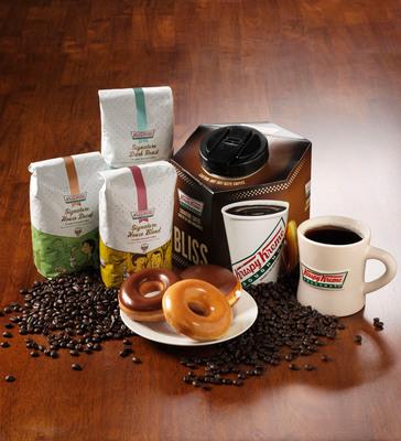 Krispy Kreme National Coffee Day Freebies.  (PRNewsFoto/Krispy Kreme Doughnut Corporation)