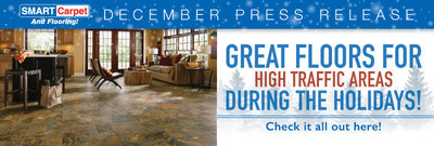Great floors for high traffic areas during the holidays