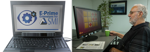 E-Prime(R) Extensions for SMI connect SMI Eye Tracking solutions with PST's renowned stimulus presentation software. (PRNewsFoto/SensoMotoric Instruments GmbH) (PRNewsFoto/SensoMotoric Instruments GmbH)