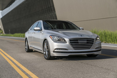 2017 Genesis G80 Earns The Industry's Highest Safety Designations