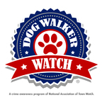 Dog Walker Watch - A new crime awareness program sponsored by the National Association of Town Watch. (PRNewsFoto/National Association of Town...)