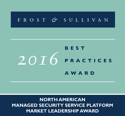 Frost & Sullivan recognizes Fortinet, Inc. with the 2016 North America Award for Market Leadership.