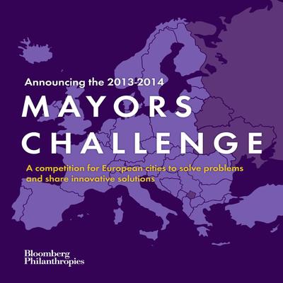 bloomberg.org/MayorsChallenge.  (PRNewsFoto/Bloomberg Philanthropies)