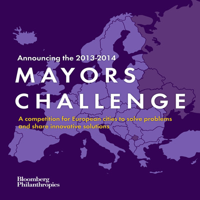 bloomberg.org/MayorsChallenge. (PRNewsFoto/Bloomberg Philanthropies) (PRNewsFoto/BLOOMBERG PHILANTHROPIES)