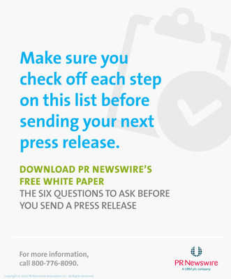 Get your press release distribution-ready with this checklist from PR Newswire