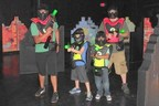 Adults and childrfen alike love the new Battle Zone arena (PRNewsFoto/Jump!Zone of Orange Park)