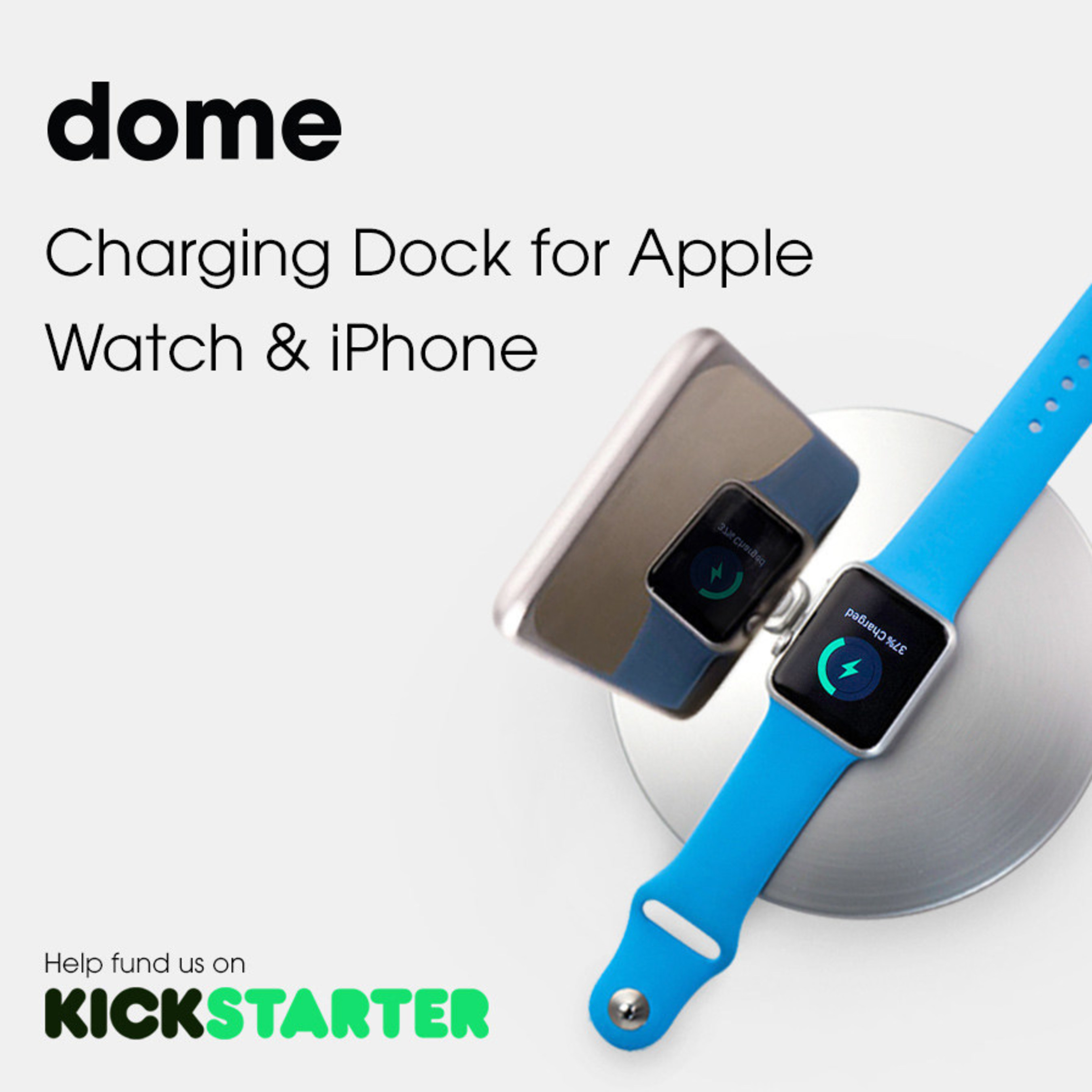 Defined Corp. Announces the Launch of Dome Apple Watch and iPhone Dock