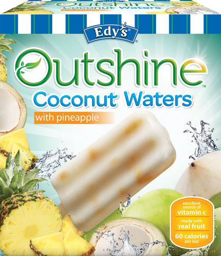 Edy's Brand Introduces First National Coconut Water Bars.  (PRNewsFoto/Edy's)