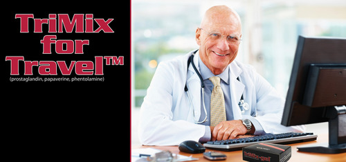 Tri Mix Ed : Ed patients now enjoy trimix on the go with new product