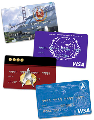 NASA Federal Credit Union Launches Star Trek(TM)-Themed Credit Card Program