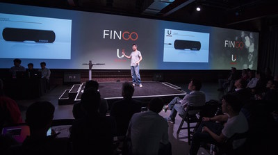 uSens CTO, Dr. Yue Fei announcing the new Fingo hardware series
