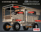 Rhino(r) lined Survivor Truck featured at 2012 SEMA Show in Las Vegas, Nevada.  (PRNewsFoto/Rhino Linings Corporation)