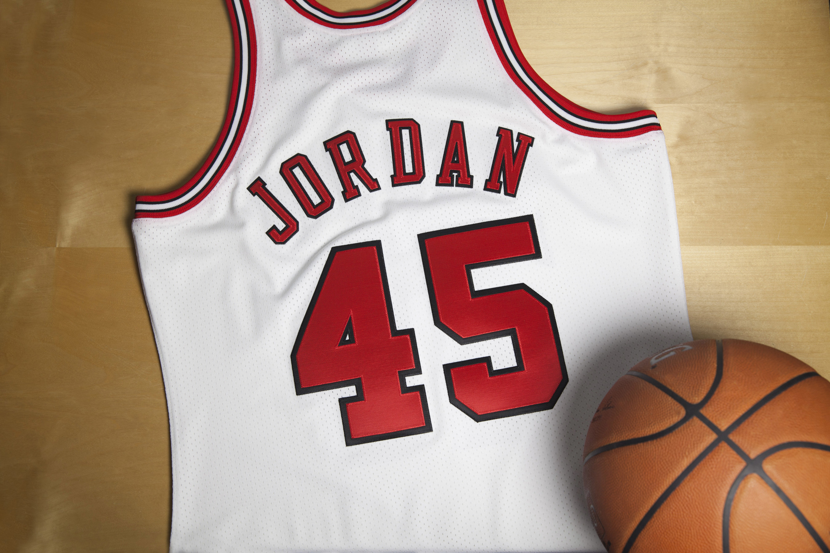81e13e10 Mitchell & Ness Releases Limited Edition 1994 - 95 Michael Jordan Chicago Bulls  Jersey