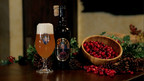 Just In Time For the Holidays, Unibroue Introduces Éphémère Canneberge, A Refreshing Beer Enhanced with Festive Cranberries