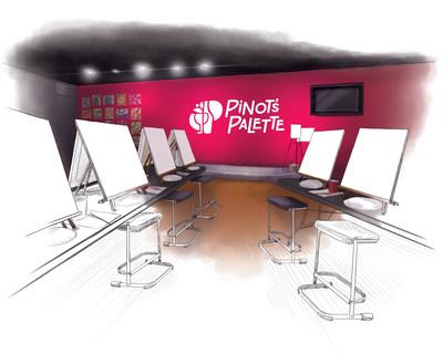 Pinot's Palette Artist Stage
