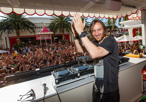 David Guetta at Encore Beach Club at Wynn Las Vegas.  (PRNewsFoto/Wynn Las Vegas)