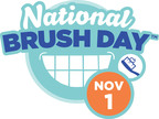 Inaugural 'National Brush Day' Encourages Parents to Keep Kids' Mouths Healthy by Brushing for Two Minutes, Twice a Day.  (PRNewsFoto/The Ad Council)
