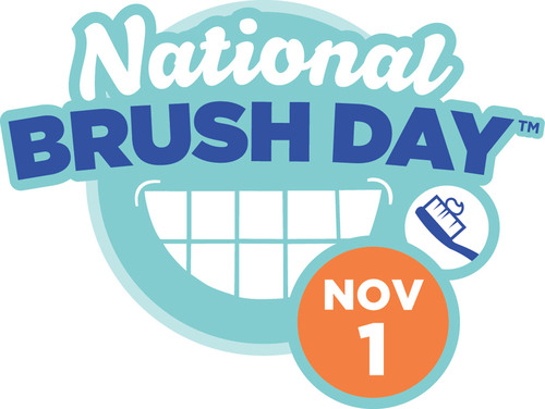 Inaugural 'National Brush Day' Encourages Parents to Keep Kids' Mouths Healthy by Brushing for Two Minutes, Twice a Day. (PRNewsFoto/The Ad Council) (PRNewsFoto/THE AD COUNCIL)
