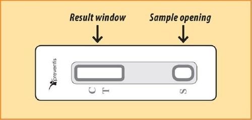 The IBSscreen Test Strip (PRNewsFoto/Ferring Pharmaceuticals)
