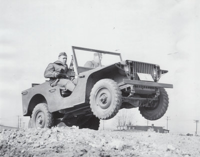 """American Bantam delivered the first pilot model to the U.S. Army on Sep. 23, 1940.  Willys-Overland delivered the first of two pilot model """"Quads"""" to the Army on Nov. 11, 1940.  Ford delivered its two pilot models GP-No. 1 and GP-No. 2 on Nov. 23, 1940. Of theses five pilot models produced only the two Ford pilot models are known to survive making the 1940 Ford Pilot Model GP-No. 1 """"Pygmy"""" America's oldest known """"jeep."""""""