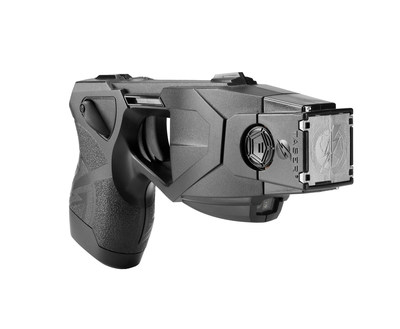 The TASER(R) X26P(TM) Smart Weapon. The use of TASER Conducted Electrical Weapons (CEWs) and Smart Weapons have saved more than 169,000 lives from potential death or serious injury.  Photo courtesy of TASER International, Scottsdale, AZ.