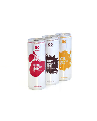 DRY Soda launched its new Discovery Pack featuring three popular flavors for tasting and pairing: Vanilla Bean, Blood Orange and Cherry