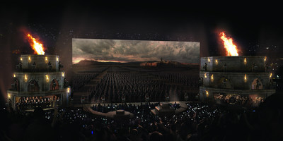 Concept art of Game of Thrones(R) Live Concert Experience only. Download photo here: https://www.dropbox.com/sh/126qt1mfz24q6hc/AAAv7Lj-FftBc7ssssAS8Hyba?dl=0