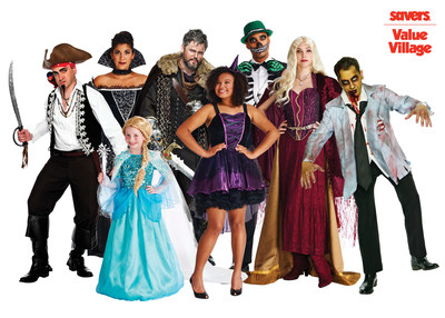 Classic and Pop Culture Costumes Unite for the Ultimate Halloween Fun