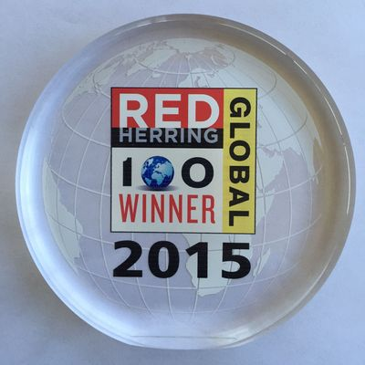 Red Herring Global Top 100 award